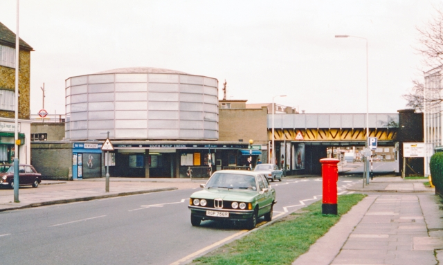South Ruislip Station, exterior 1978